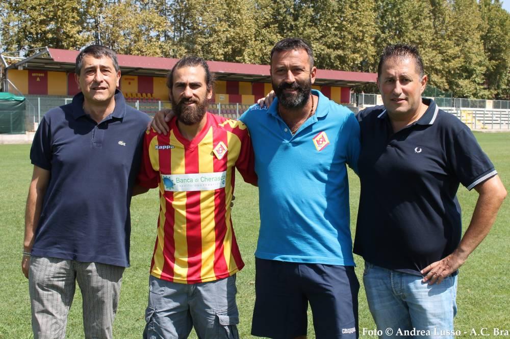 Da sinistra: Germanetti, Gasbarroni, Daidola e Sartori
