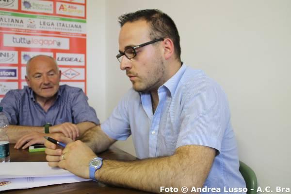 L'addetto stampa Danilo Lusso