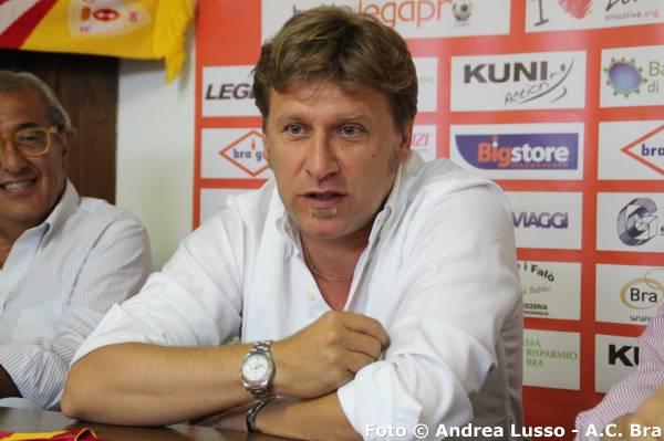 L'allenatore della Prima Squadra Massimo Gardano