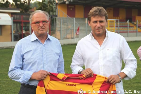 Da sin. Roberto Aimo (allenatore Juniores Nazionale) e Massimo Gardano (allenatore Prima Squadra)