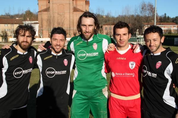 Da sinistra: Gasbarroni, Allegretti, Castelli, Briano e Grauso.